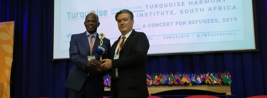 THI awarded at UNGA Conference in New York
